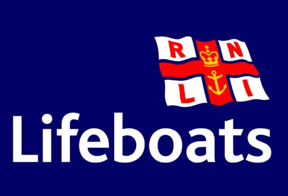 RNLI Christmas Card Sales Table