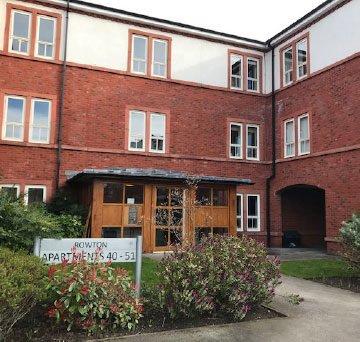 Boughton Hall Exterior Rowton