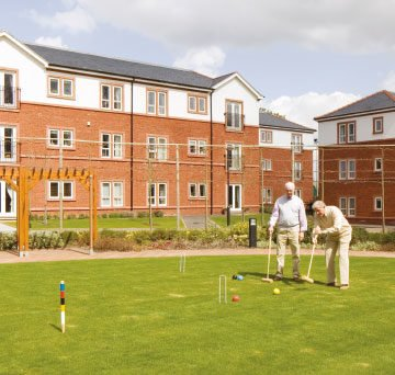 Healthy retirement lifestyle in Chester at Boughton Hall